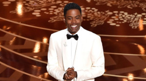Chris Rock did a masterful job of diffusing the tension during the opening monologue for the 2016 Academy Awards. (Getty Images)