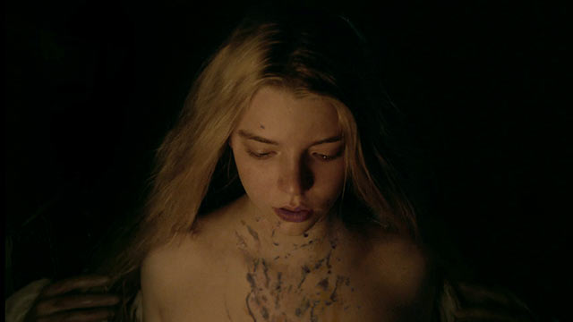 Anya Taylor-Joy delivers a haunting performance as the daughter of a farmer whose family is tormented by a witch.