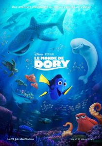 Finding Dory movie poster (Pixar)